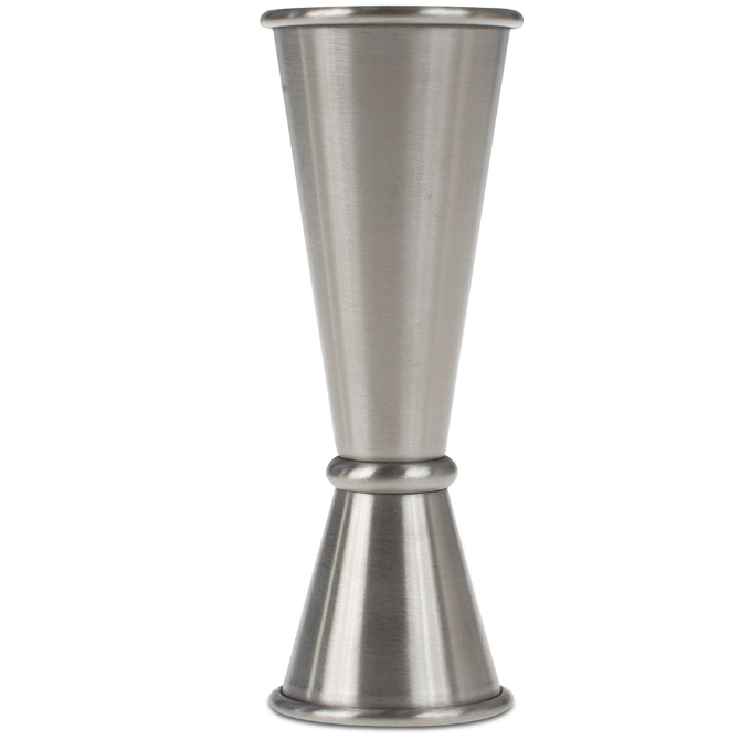 Cocktail kingdom jigger 1 and 2oz stainless steel for Cocktail jagger