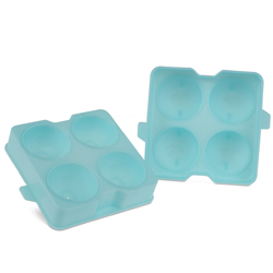 Cocktail Kingdom  Ice Sphere Tray 4 forms -  2 inch