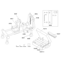 replacements parts for spiral vegetable slicer