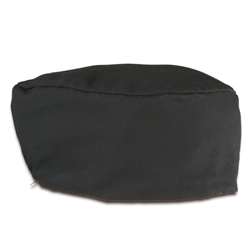 Baker's Cap - Black Cotton