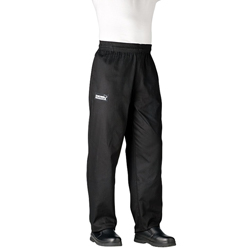 Traditional Chef's Pants - Black - Extra Small