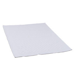 White Check Side Towel 17.7 inch x 25.5 inch