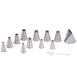 Pastry Tip Set - 12 piece