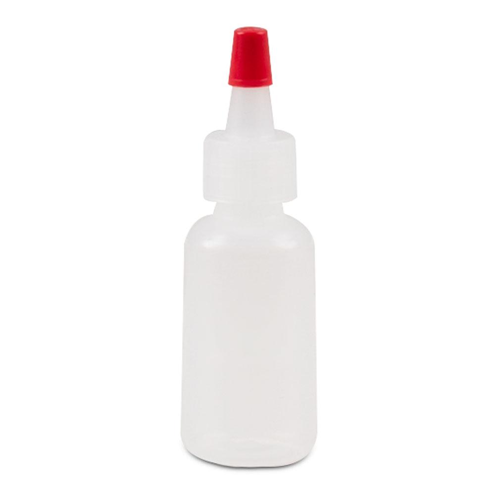 Plastic Squeeze Bottles Fine Tip 1oz Capacity