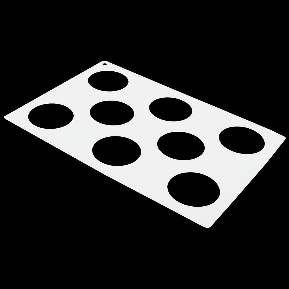 culinary template circles shapes