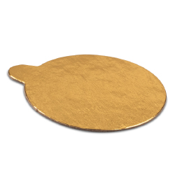 Round Pastry Boards - 3-1/4 inch - Gold