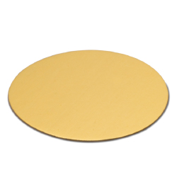 Round Pastry Boards - 4 inch - Gold