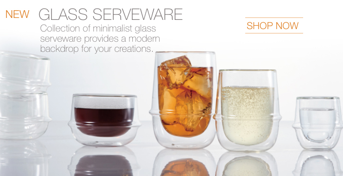 Glass Serveware Collection