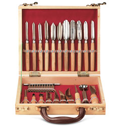 Food Carving Set - 22 pcs with Case