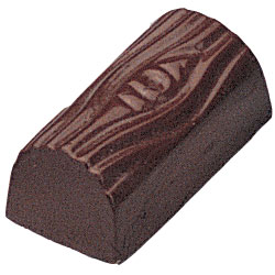 Log Design Chocolate Mold - 44 Forms