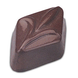Fleur Diamond Design Chocolate Mold - 24 Forms