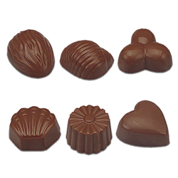 Assortment  Chocolate Mold - 24 Forms