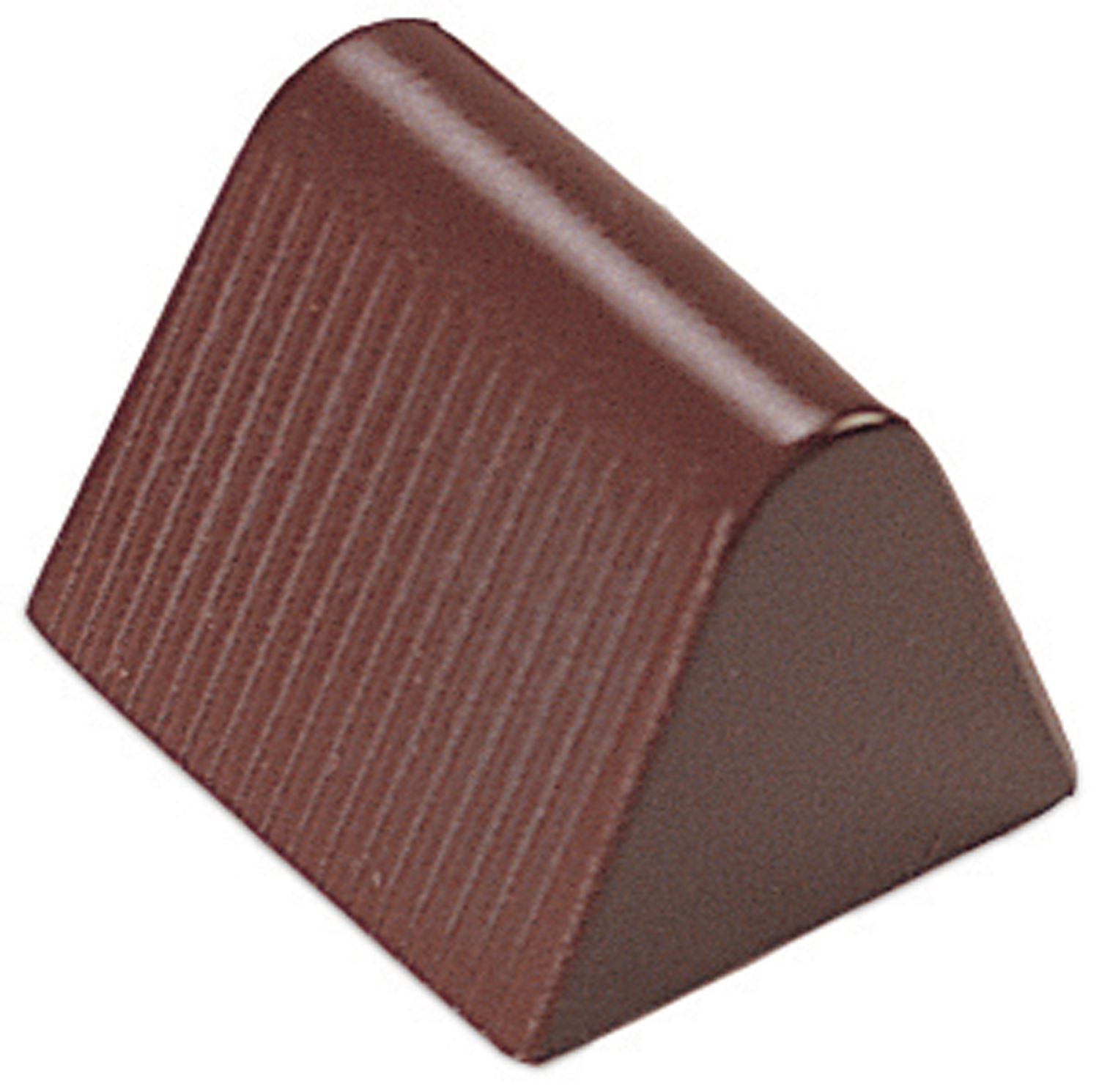 28 Triangle Log Design Professional Quality Chocolate Molds