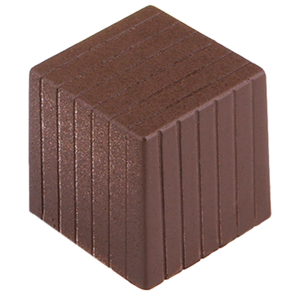 Pinstride Cube Chocolate Mold