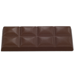 6 Bar Chocolate Mold - 2 inch x 4.25 inch