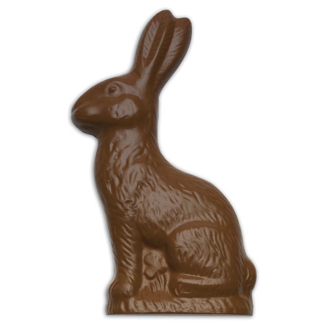 2-piece sitting rabbit mold