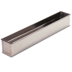 Flat Bottom Mold - Stainless Steel