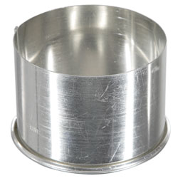 Round Ring 2.75 inch Tinned Steel