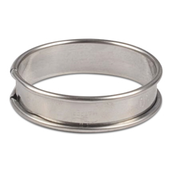 Flan Ring 65mm diameter - pack of 6