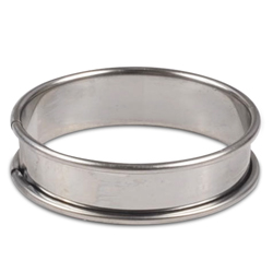 Flan Ring - 3 inch - Stainless Steel