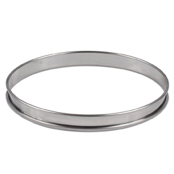 Flan Ring - 8 inch - Stainless Steel