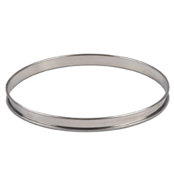 Flan Ring - 9.5 inch - Stainless Steel