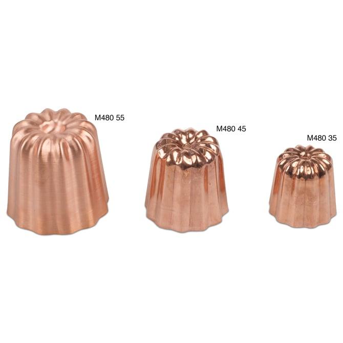 Cannele Mold Copper 2 Quot Diameter Jbprince Com