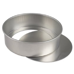 Removable Bottom Cake Pan 10 Quot Diameter X 3 Quot Height