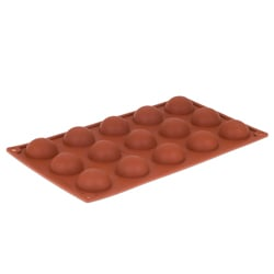 Orange Non-Stick - 15 Half Rounds