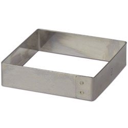 Square Ring Mold 8cm (3.25 inch x 3/4 inch)