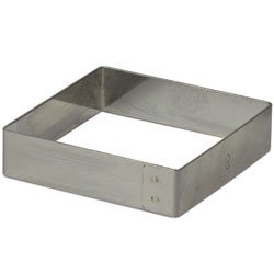 Square Ring Mold 12cm (4.75 inch x 3/4 inch)