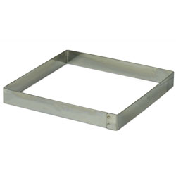 Square Ring Mold 24cm (9.5 inch x 3/4 inch)