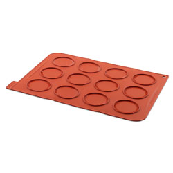 Silicone Whoopies Baking Sheet 12 cav
