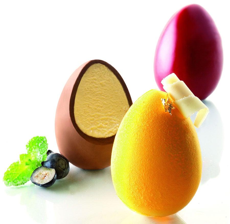 Silicone 3D Egg Mold -...
