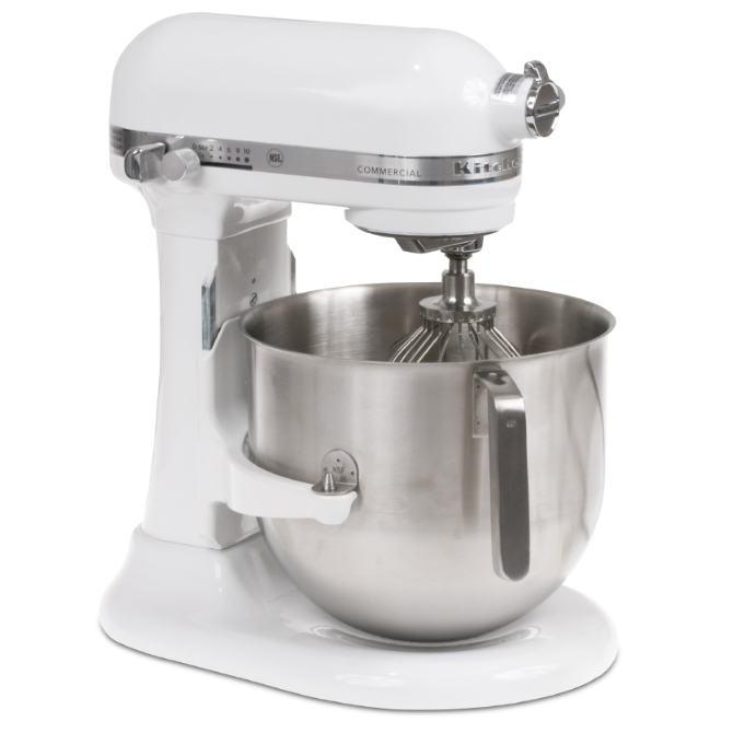KitchenAid Commercial 8-Qt Mixer White