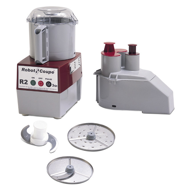 Robot Coupe R2 Commercial Food Processor 3 Quarts