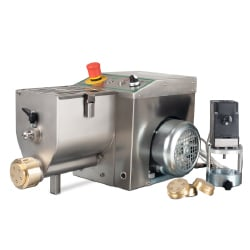 Pasta Extruding Machine with 4 Bronze Dies