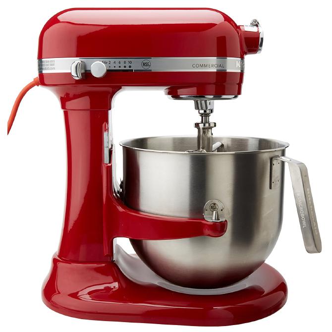 Kitchenaid Commercial Mixer 8 Quarts Red Jbprince Com