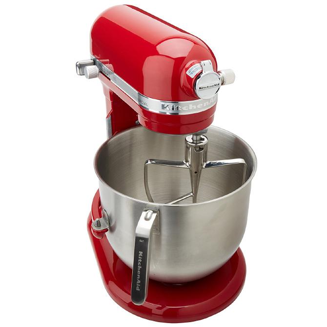 Kitchenaid Commercial 8 Quarts Mixer Red Jbprince Com