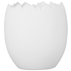 Comatec Mini Egg Cup- White 1.5 ounce