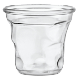 Clear Crushed Cup - 3 ounce