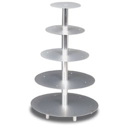5 Tier Wedding Cake Stand