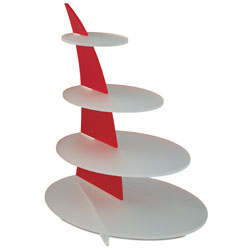 Red Sail Display Stand