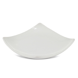 Flared Square Plate-4 inch