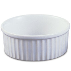 White China Ramekin - 3.5 inch diameter