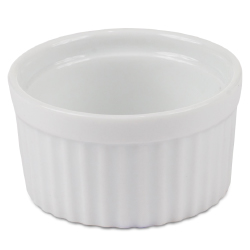 China Ramekin 3 inch diam x 1-5/8 high