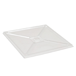 Comatec Bento Plate Cover; Crystal