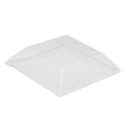 Comatec Cover For Square Plate; Clear Plastic