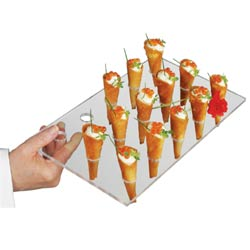 Cone Serving Tray - 15 Servings