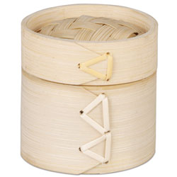 Mini Bamboo Steamer 2 inch diameter